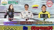 Colombianos se destacaron en las 24 Horas de Daytona