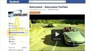 El canal de YouTube de Autocosmos llega a Facebook