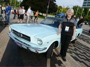 Esta es la historia del primer Ford Mustang vendido