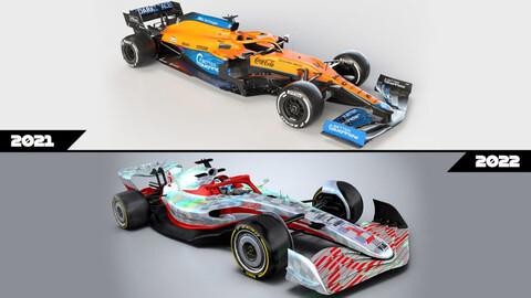 Estas son las diferencias entre los F1 2021 y los de 2022