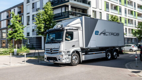 eActros, llega el primer camión eléctrico de Mercedes-Benz