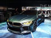 BMW M8 Gran Coupé Concept, imponente futuro bávaro