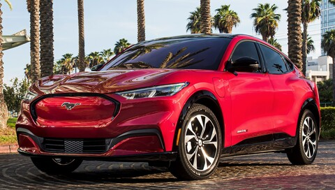 Ford Mustang Mach-E: North American SUV of the Year 2021