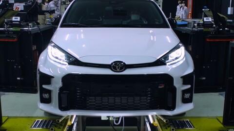 Toyota inicia la producción del GR Yaris en Japón
