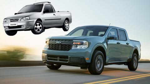 Ford Courier podría volver la hermana menor de la pickup Maverick
