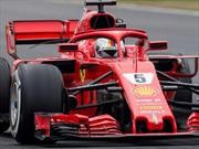 F1 2018: En el segundo entrenamiento, el mejor fue Vettel