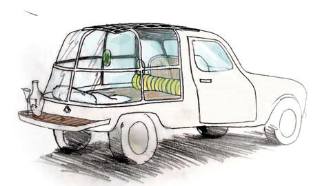 Vuelve el Renault 4 y ahora se puede vivir adentro