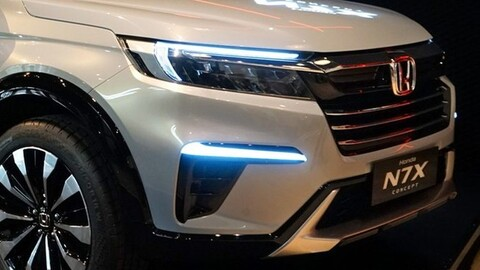 Esta es la nueva generación de la Honda BR-V