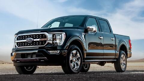 Las 10 pickups más vendidas en agosto 2021