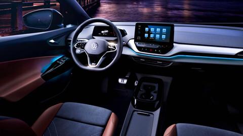 Primeras imágenes del interior del Volkswagen ID.4
