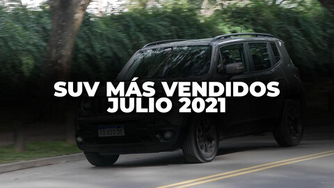 Los SUV más vendidos de Argentina en julio de 2021