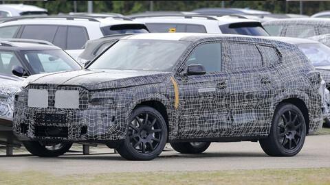 BMW X8 ya tiene prototipos en la calle