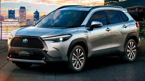 El Toyota Corolla Cross prepara su lanzamiento regional en 6 meses
