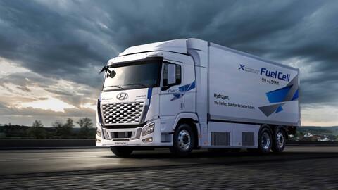 Hyundai actualiza a su primer camión de hidrógeno