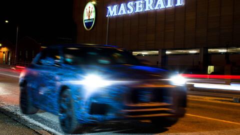 Maserati empieza a mostrarnos el Grecale