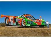 John Cerney crea monumental Mazda 787B , auto ganador de las 24 Horas de Le Mans
