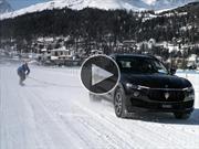 Video: Un snowboarder rompe un récord gracias a la Maserati Levante