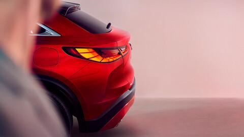 Infiniti QX55, la SUV coupé nipona se presentará en noviembre