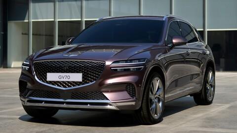 Genesis GV70 2022: el rival coreano de Audi Q5, BMW X3 y Mercedes-Benz GLC