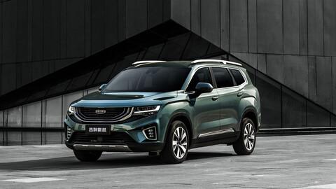 Geely Hao Ye, el nuevo SUV de siete plazas chino también contará con versión eléctrica