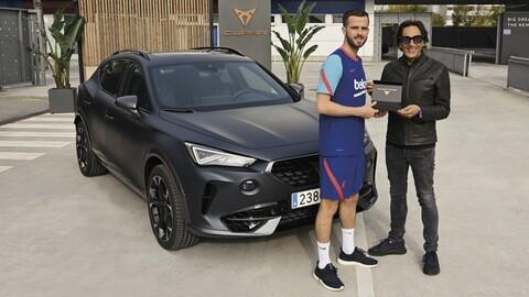 Messi sigue sin aparecer en las presentaciones de Cupra