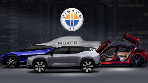 Fisker competirá con Tesla por medio de un sedán, dos SUVs y una pickup