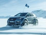 Un Hyundai Santa Fe cruza la Antártida en honor a Ernest Shackleton