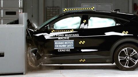 Ford Mustang Mach-E 2021 es reconocido por el elevado nivel de seguridad que ofrece a sus pasajeros