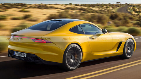 Mercedes-AMG GT 2022, a nada de ser presentado