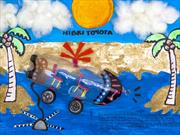 Colombiana de 5 años gana concurso mundial de Toyota