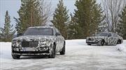 Rolls-Royce Ghost 2021 patina en el hielo