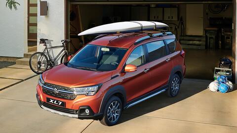 Suzuki XL7 vuelve a Chile como la versión SUV de Ertiga