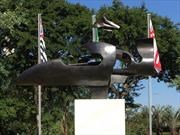Inauguran plaza pública en memoria de Ayrton Senna