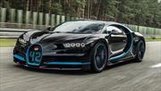 ¿Cómo se filmó el record de 0-400-0 del Bugatti Chiron en 2017?