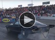 Este Mustang GT500 completó el cuarto de milla en 6 segundos