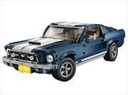 Este magnífico Mustang Fastback 1967 es la nueva creación de LEGO
