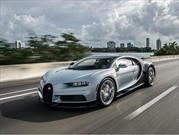 Bugatti entrega 70 unidades del Chiron durante 2017