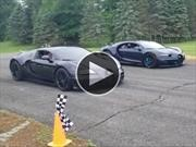 Bugatti vs Bugatti: duelo fraticida en video