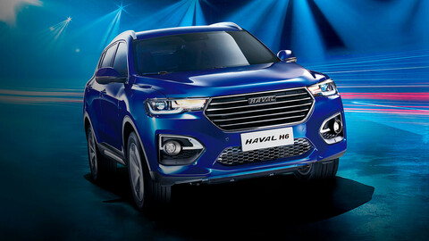 Haval H6 Hybrid es develada en China