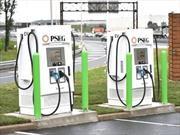 Las 10 ciudades de Estados Unidos con más estaciones de carga rápida para vehículos eléctricos