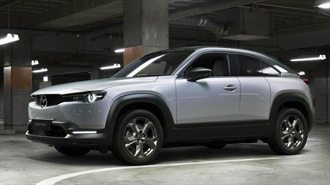 Mazda MX-30, el primer eléctrico de la marca inicia su producción