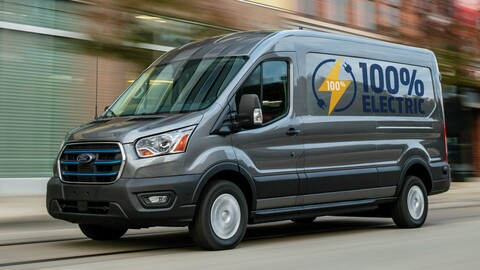 Ford E-Transit 2022, la versión eléctrica de la multifacética van, llega a México el próximo año