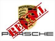 Llaman a revisión a 50,000 Porsche Cayenne