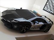 Video: como hacer tu propio Lamborghini Aventador… en papel