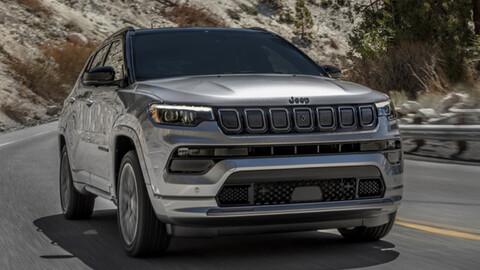 Jeep Compass 2022 renovación sin motor turbo para EE.UU.