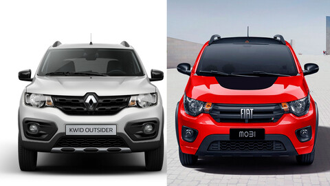 FIAT Mobi vs Renault Kwid ¿cuál es mejor?
