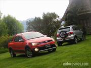 Volkswagen presentó su gama Cross en la Patagonia