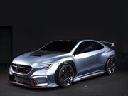 Subaru Viziv Performance STi Concept, la leyenda podria ver una nueva generación