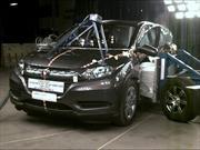La nueva Honda HR-V obtiene 5 estrellas en pruebas de la NHTSA