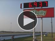 El Nissan GT-R que completa el 1/4 milla menos de 7 segundos